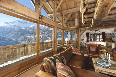 Luxury chalet interior