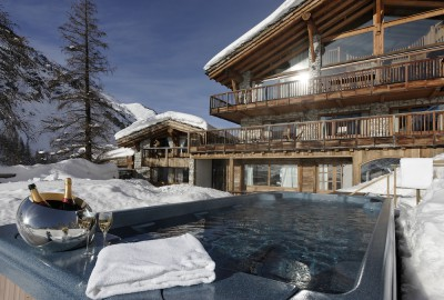 Luxury Catered Ski Resort