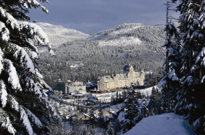 Whistler from accross valley