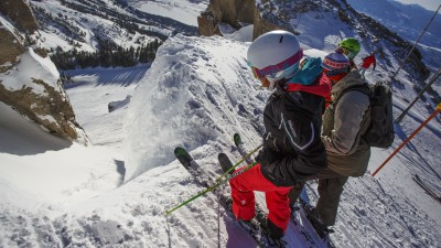 ski slope start