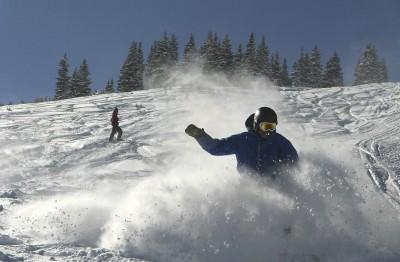 Ski slope Breckenridge