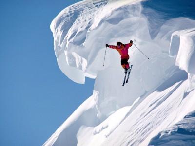 extreme ski-jump