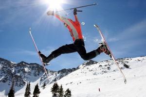weird ski jump