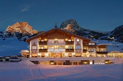 Ski hotel in Italy